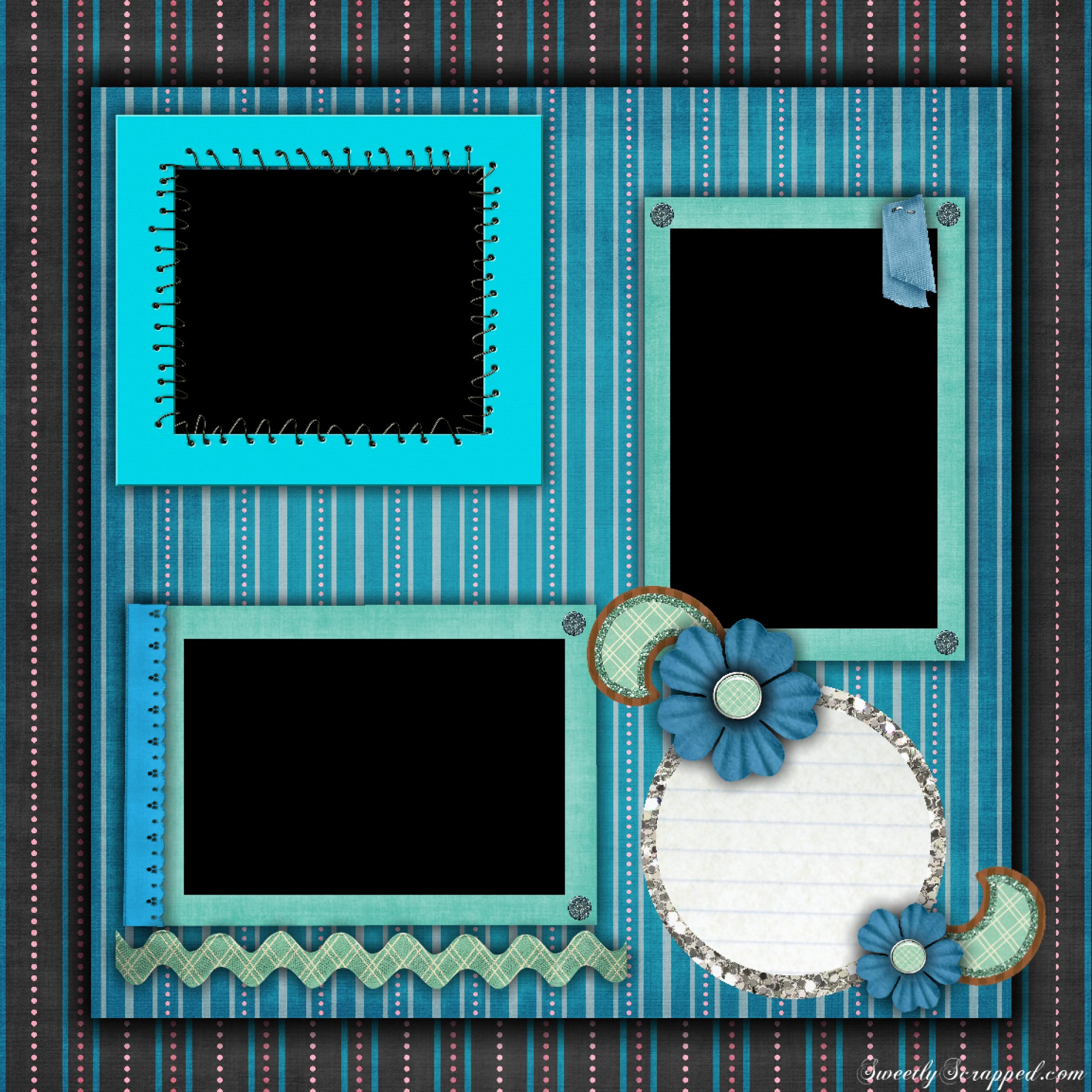 001 Free Printable Scrapbook Templates Template ~ Ulyssesroom - Free Printable Scrapbook Templates