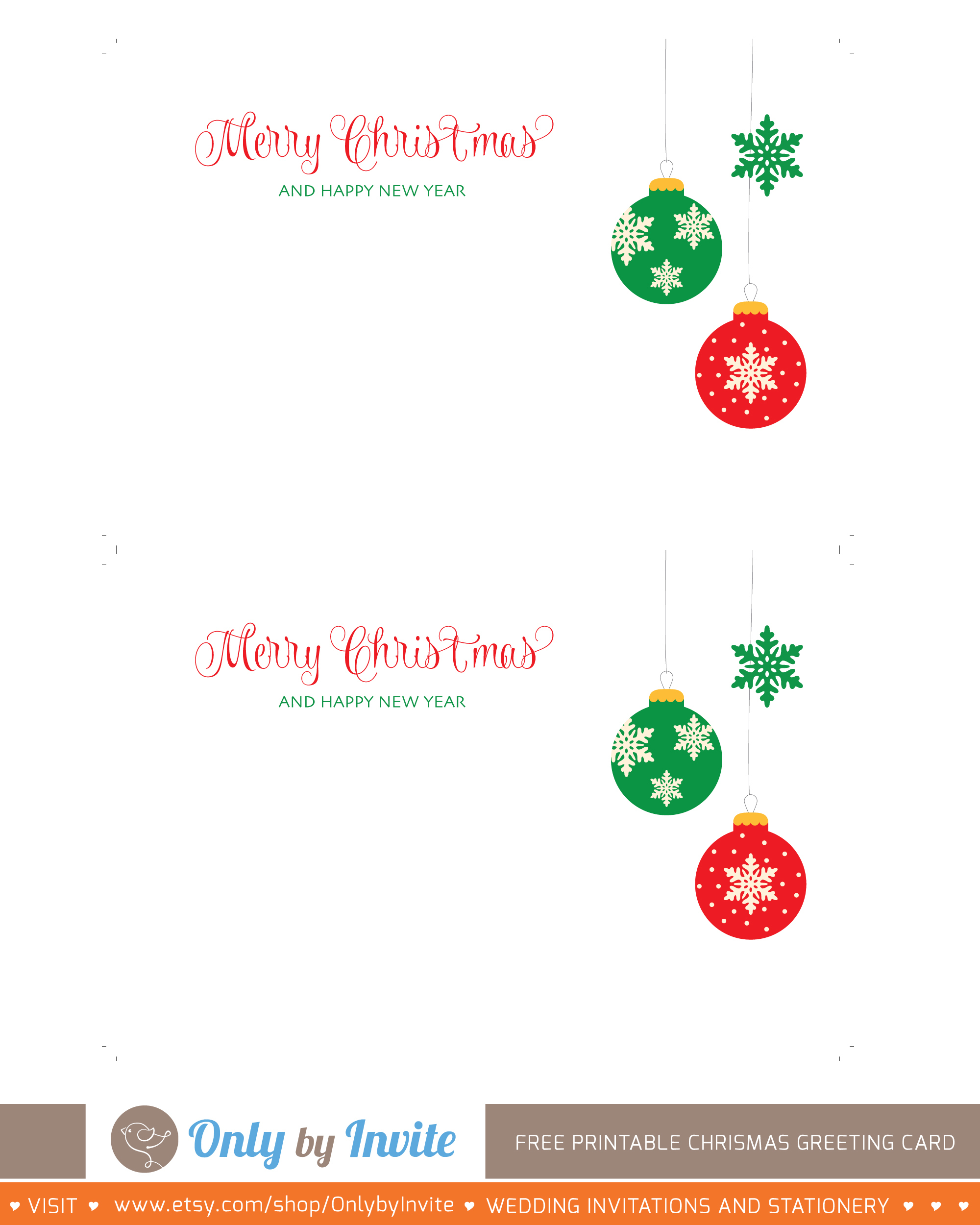 001 Printable Greetings Cards Templates Free Christmas Greeting Card - Free Printable Greeting Cards