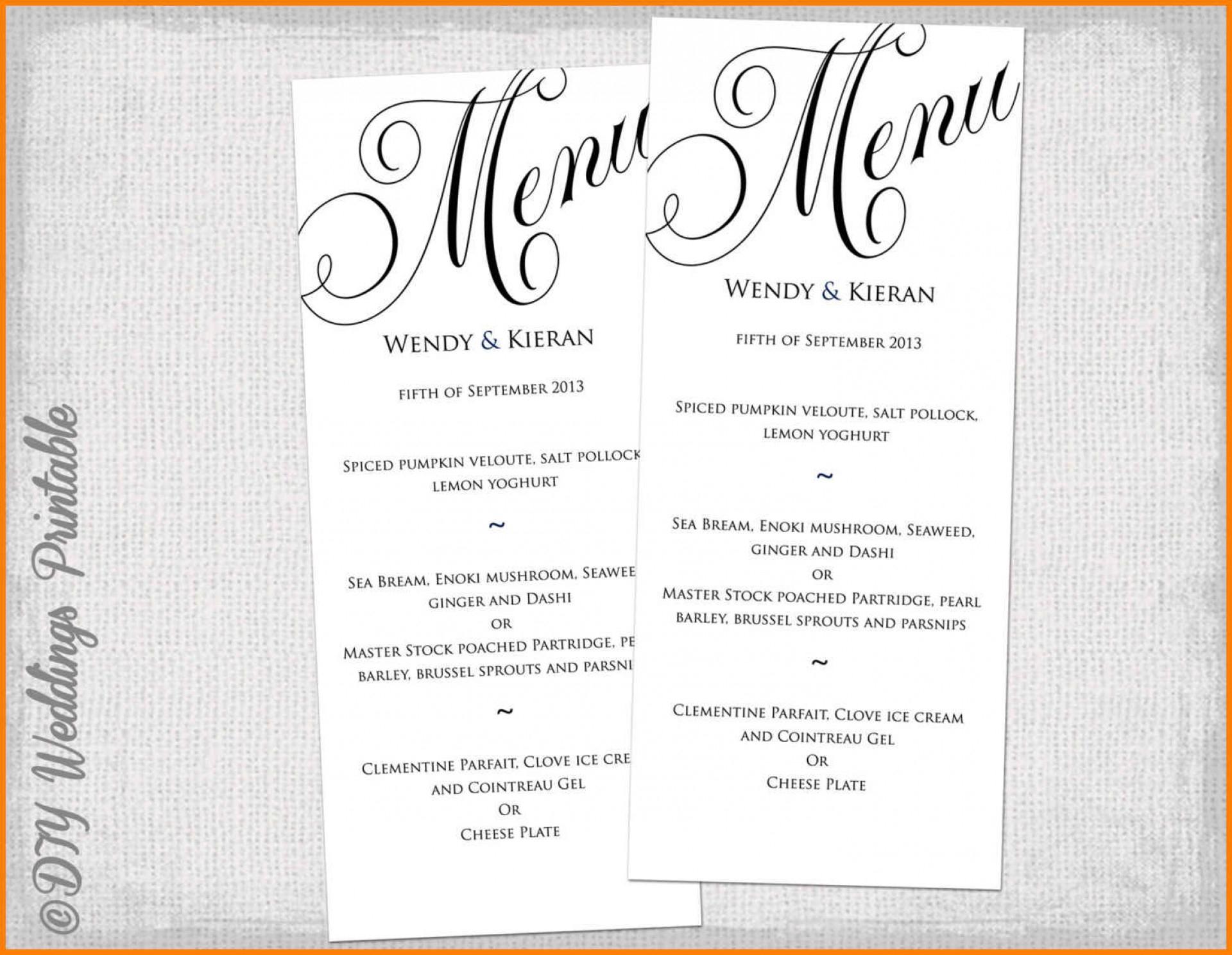 002 Template Ideas Dinner Party Menu 8 Best Images Of Printable - Free Printable Dinner Party Menu Template