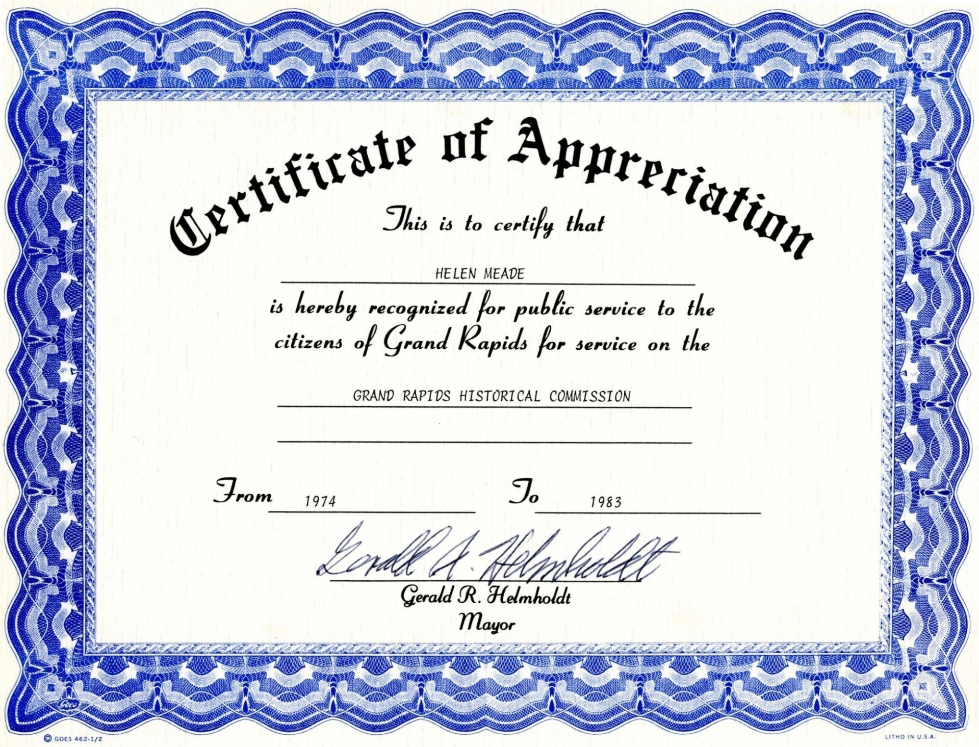 004 Certificates Of Appreciation Templates Free Sample Certificate - Sports Certificate Templates Free Printable