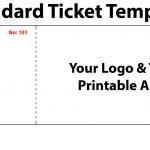 004 Ticket Invitation Template Free Ideas Movie ~ Ulyssesroom   Make Your Own Tickets Free Printable