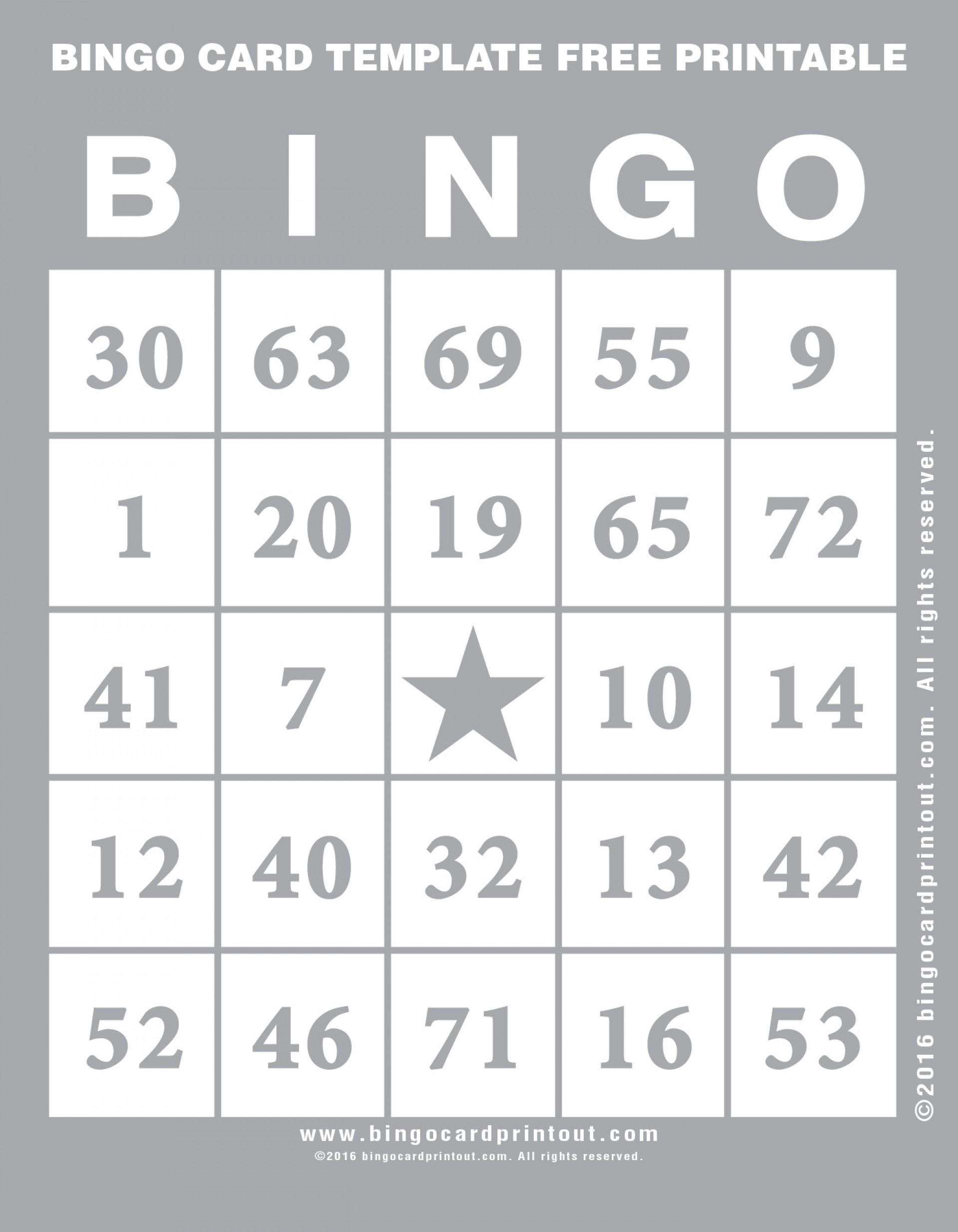 005 Template Ideas Bingo Card Free Printable ~ Ulyssesroom - Free Printable Bingo Cards For Teachers
