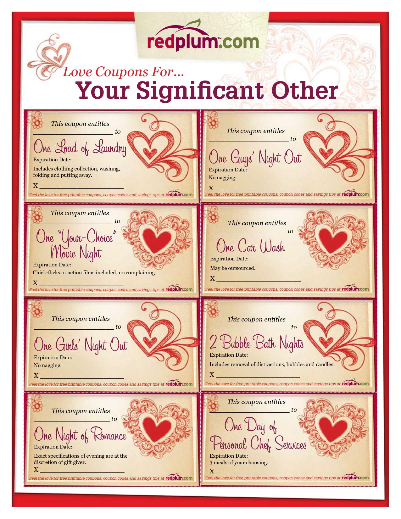 005 Template Ideas Free Printable Coupon Templates ~ Ulyssesroom - Free Printable Blank Birthday Coupons