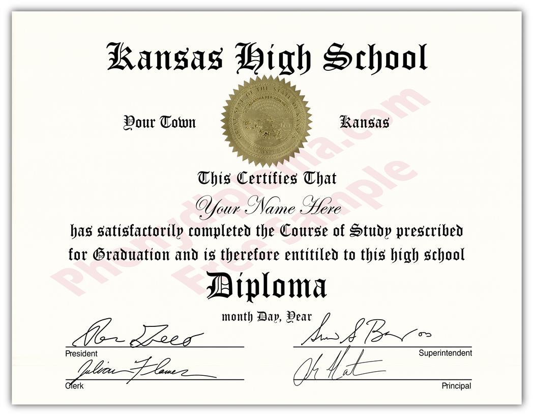 005 Template Ideas High School Diploma Kansas ~ Ulyssesroom - Free Printable High School Diploma Templates