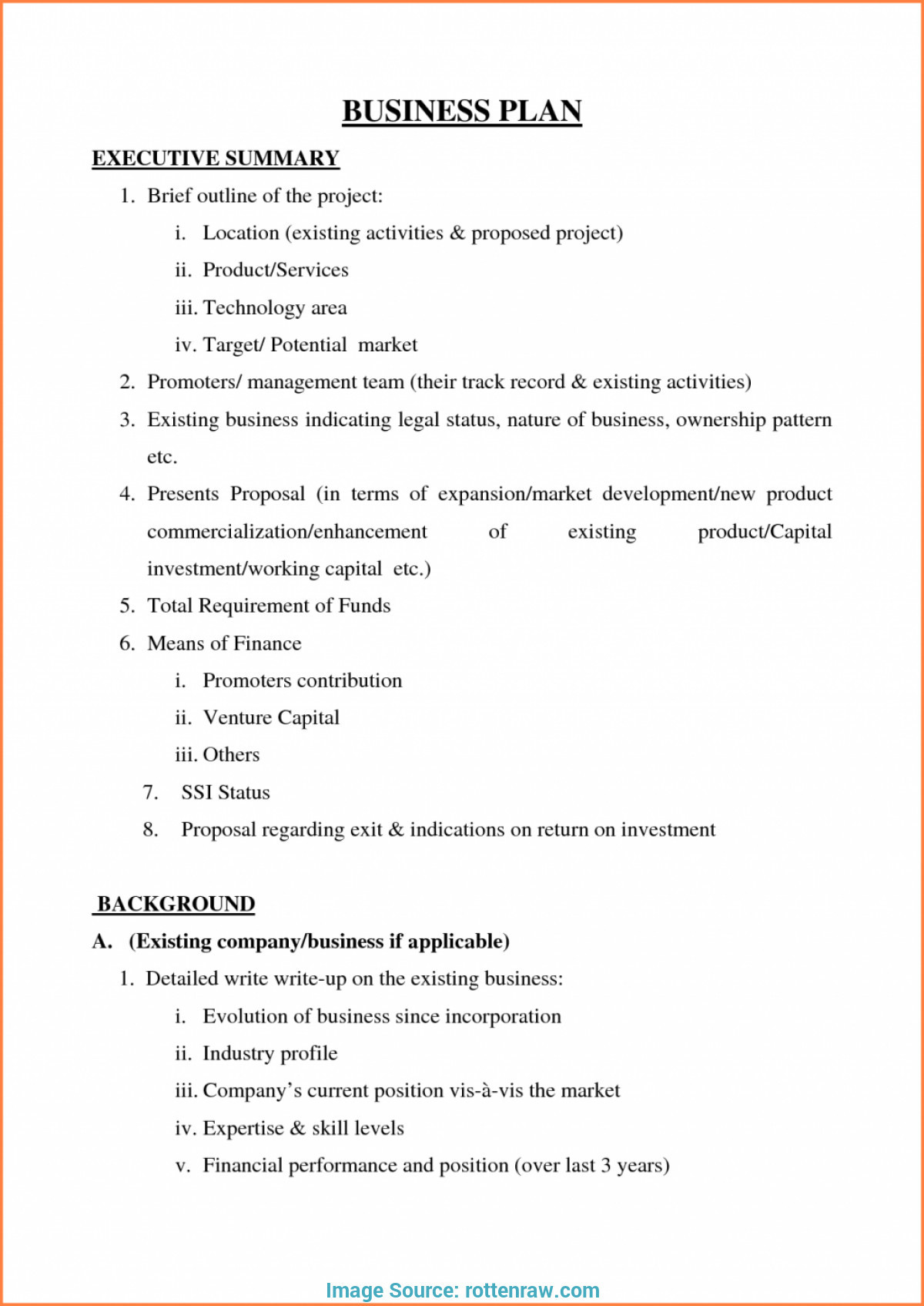 007 Simple Small Business Plan Template Free Example Of Printable - Free Printable Simple Business Plan Template