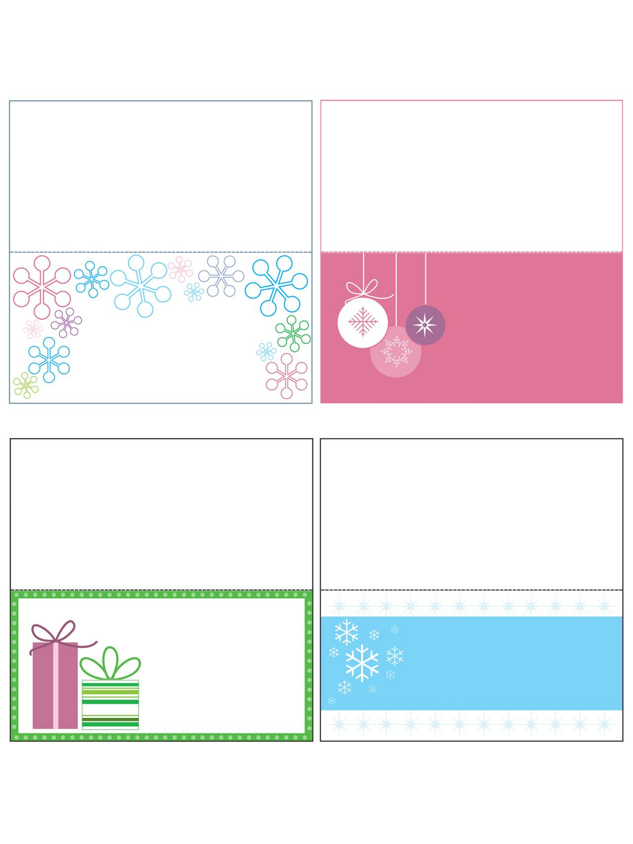 009 Template For Gift Tags ~ Ulyssesroom - Free Online Gift Tags Printable