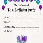 010 Invitations Templates Free Printable Template Ideas ~ Ulyssesroom   21St Birthday Invitation Templates Free Printable