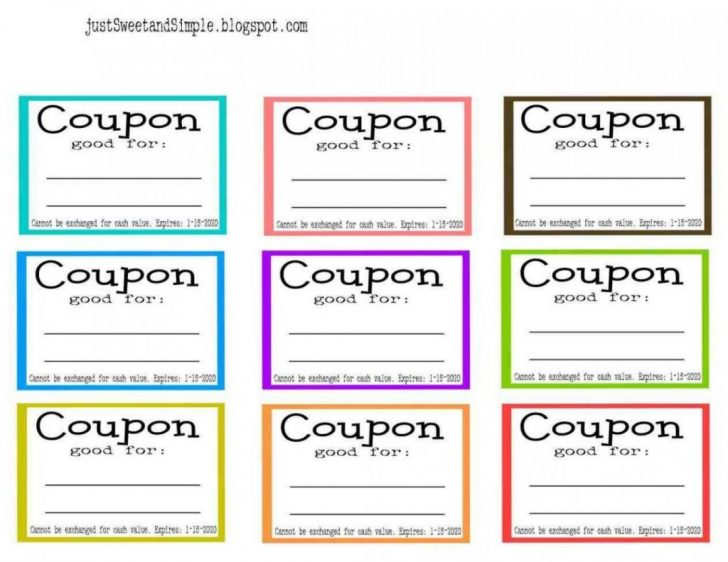 Make Your Own Printable Coupons For Free