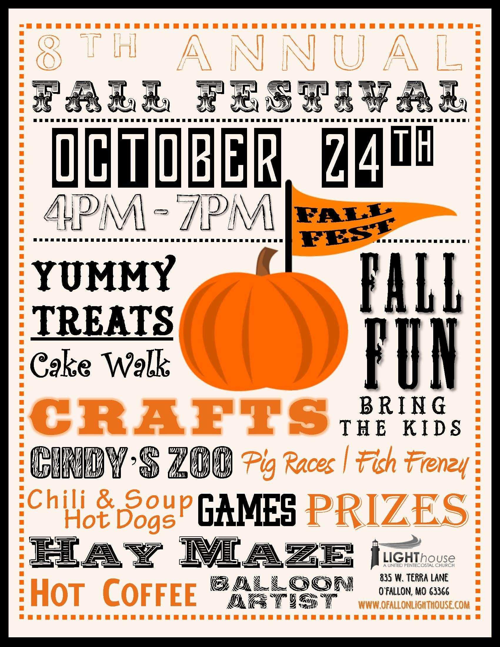 011 Free Church Fall Festival Flyer Template Printable Event - Free Printable Fall Festival Flyer Templates