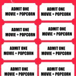 012 Printable Movie Ticket Template Ideas Tickets ~ Ulyssesroom – Free Printable Movie Tickets