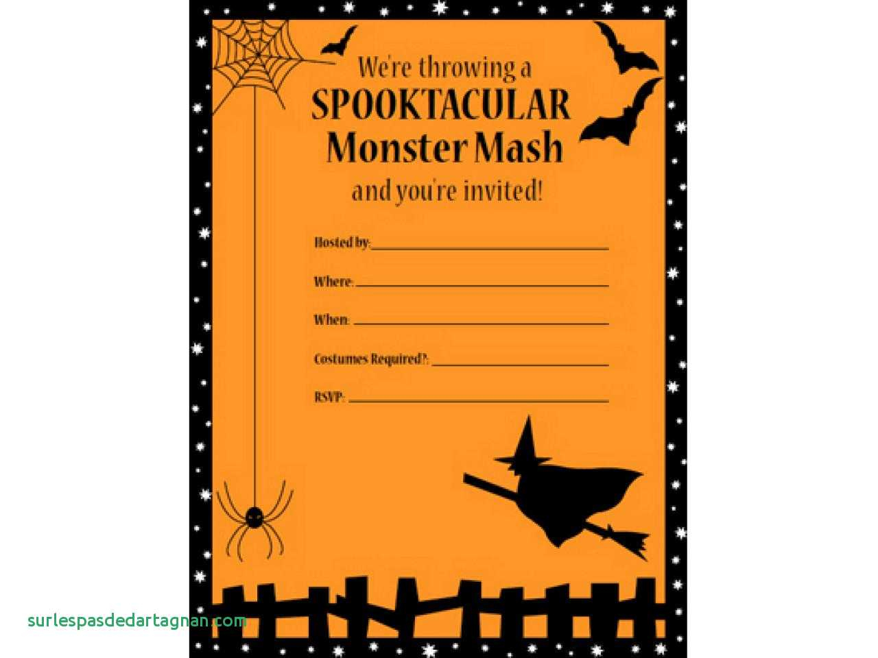 013 Template Ideas Captivating Free Halloween Invitation Templates - Free Printable Halloween Invitations For Adults