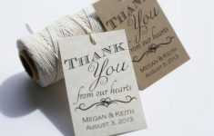 014 Wedding Thank You Favor Tags Printable 5566 Template ~ Ulyssesroom – Free Printable Wedding Thank You Tags