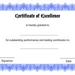 015 Blank Award Certificate Template ~ Ulyssesroom   Free Printable Award Certificates