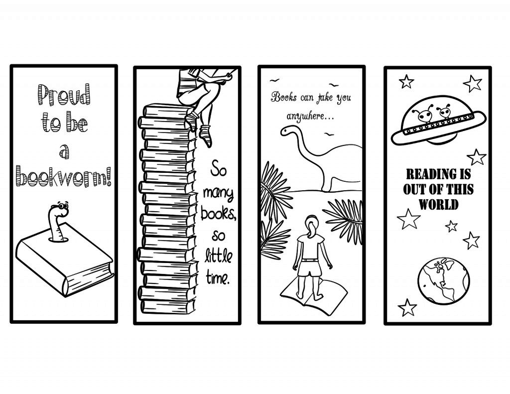 017 Template Ideas Free Printable Bookmark Templates To Color Google - Free Printable Bookmarks Templates