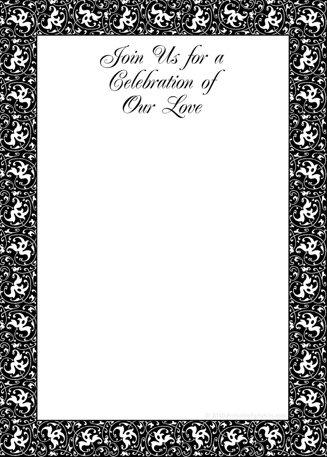017 Template Ideas Free Printable Housewarming Partys Templates 9 - Free Printable Housewarming Invitations Cards