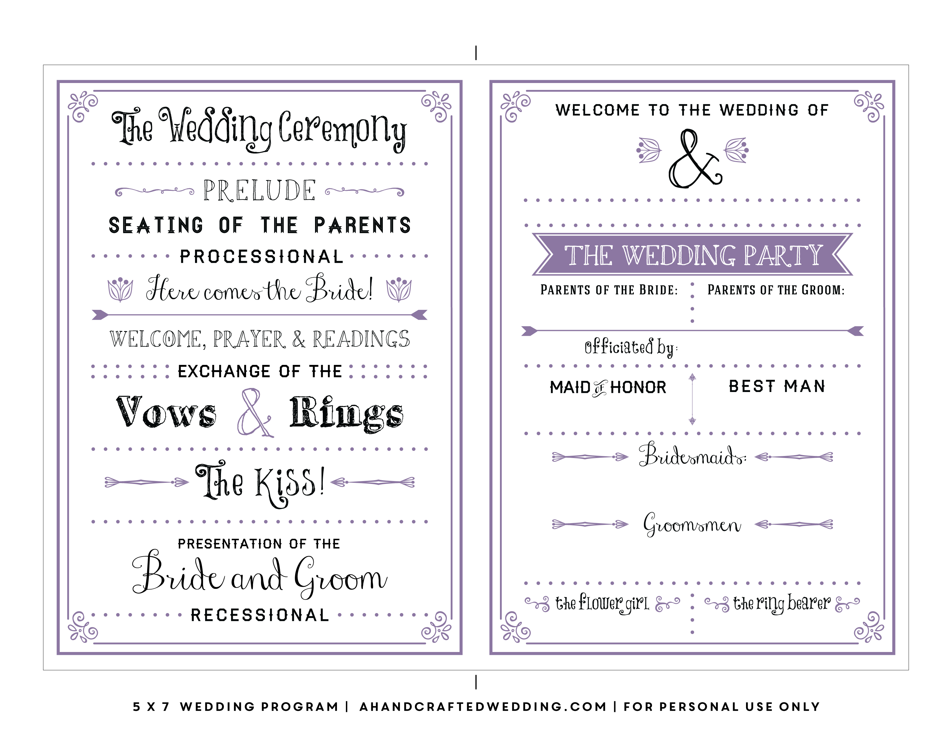 017 Template Ideas Free Printable Wedding Program Templates Weekend - Free Printable Catholic Mass Book