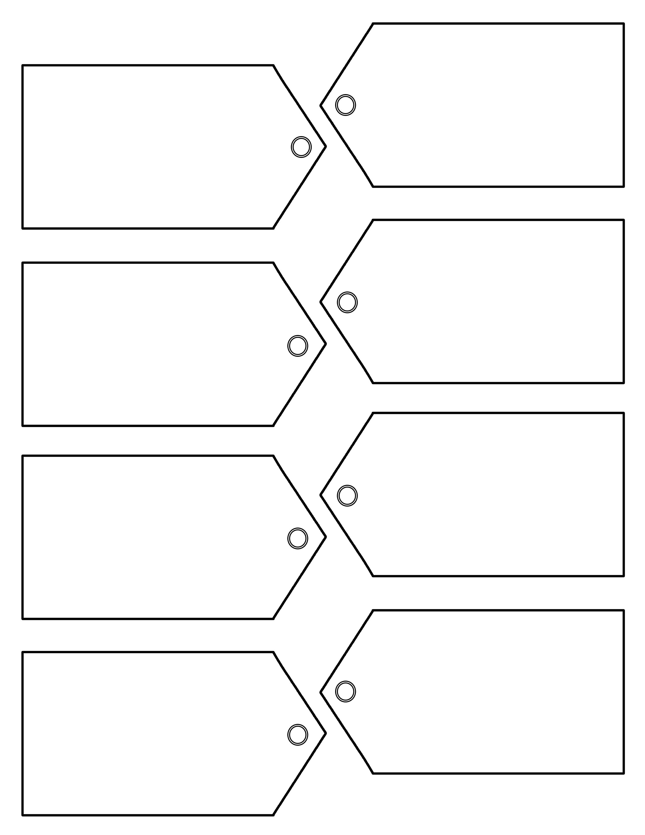 018 Free Printable Gift Tags Templates Template ~ Ulyssesroom - Free Printable Blank Gift Tags