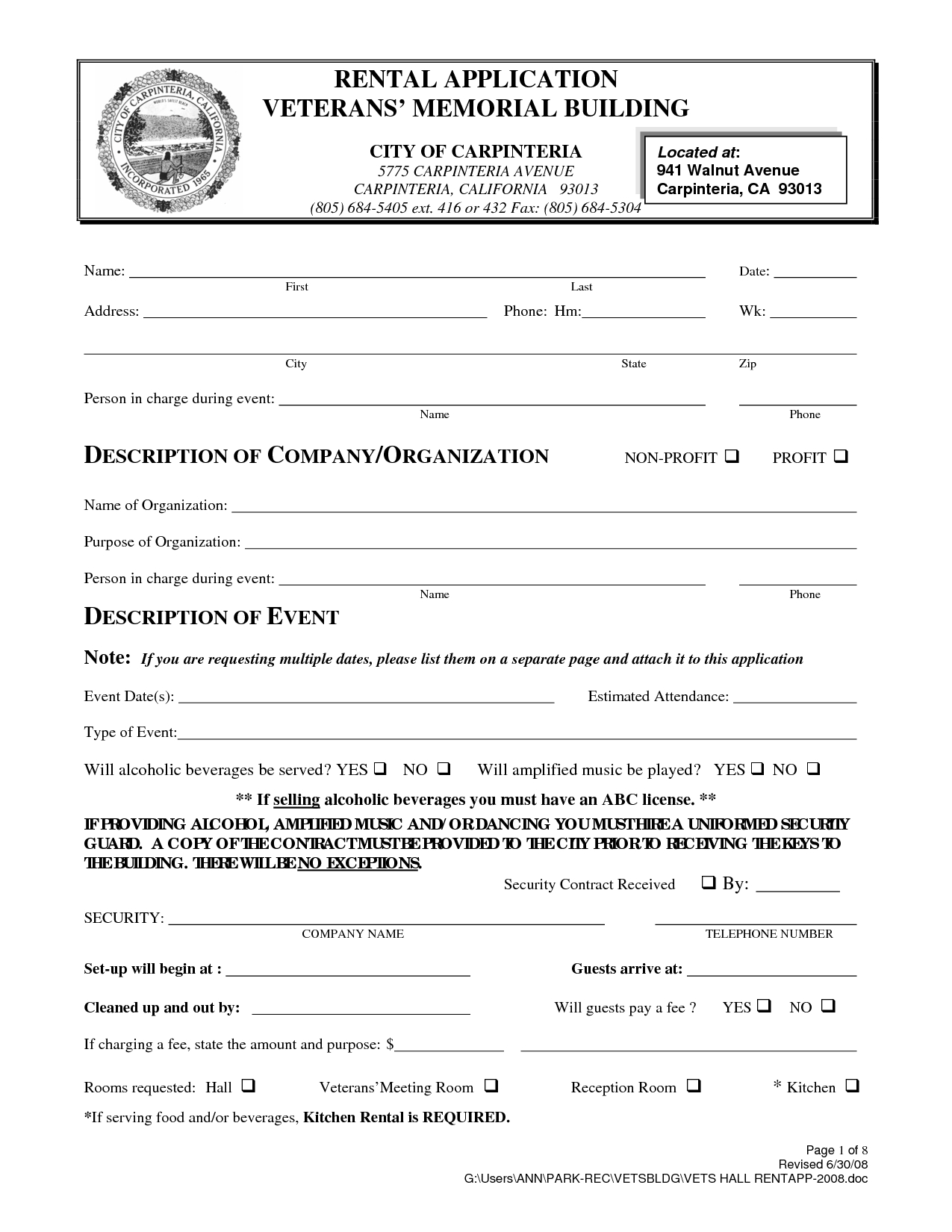 019 Free Printable Lease Agreement Template California Rental 809777 - Free Printable California Residential Lease Agreement