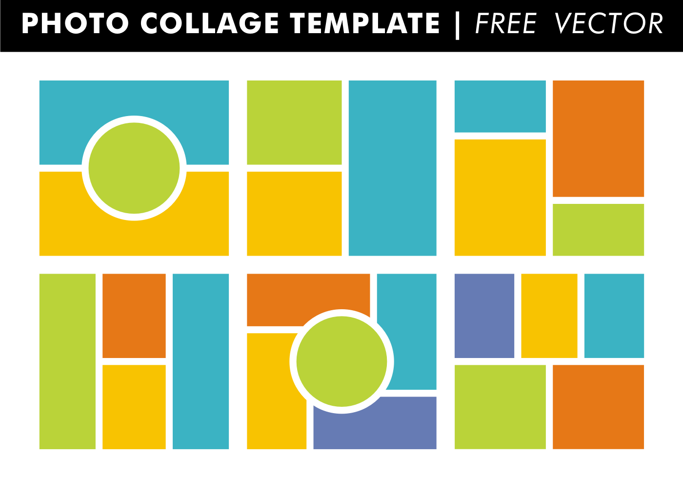 020 Blogcollagessample Free Photo Collage Templates Template - Free Printable Photo Collage Template