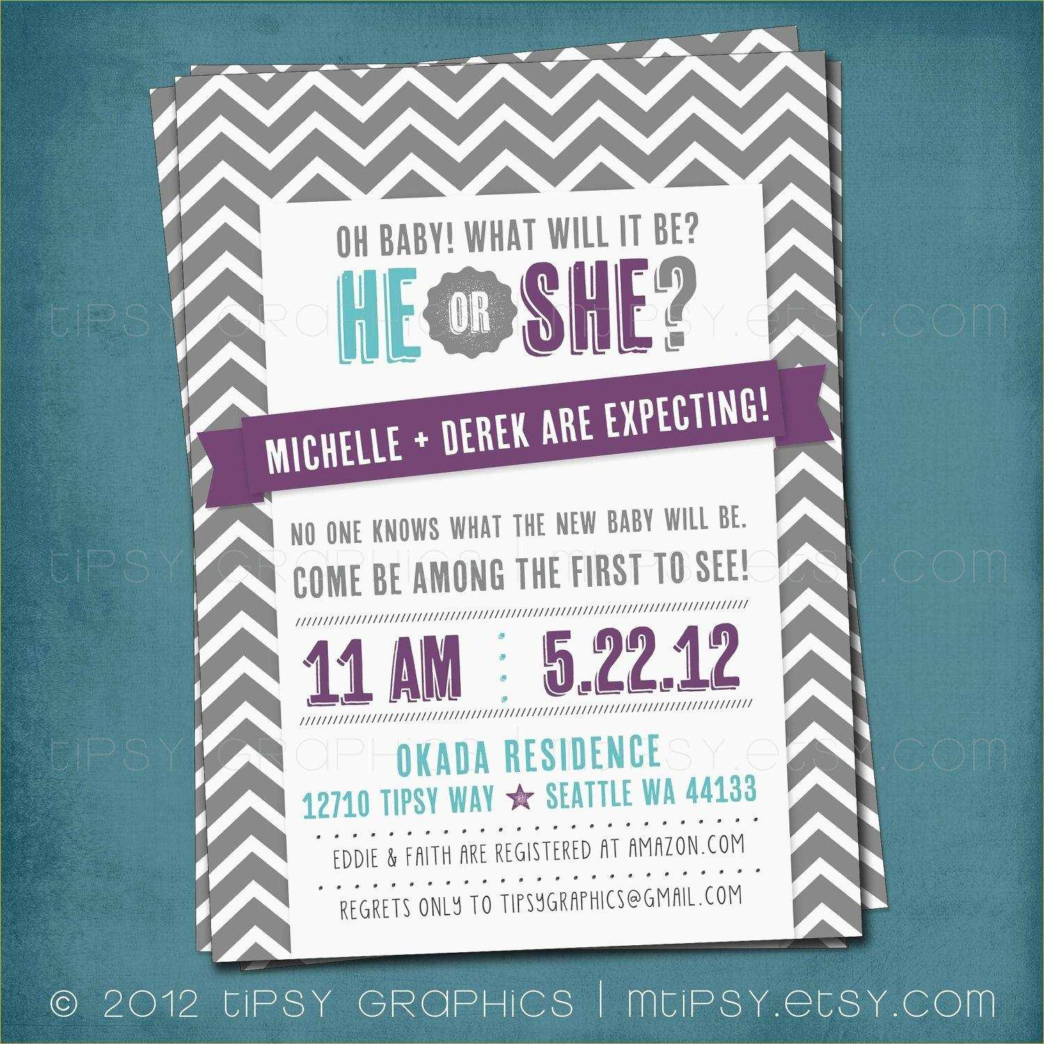 020 Free Gender Reveal Invitation Templates Template Ideas Printable - Free Printable Gender Reveal Templates
