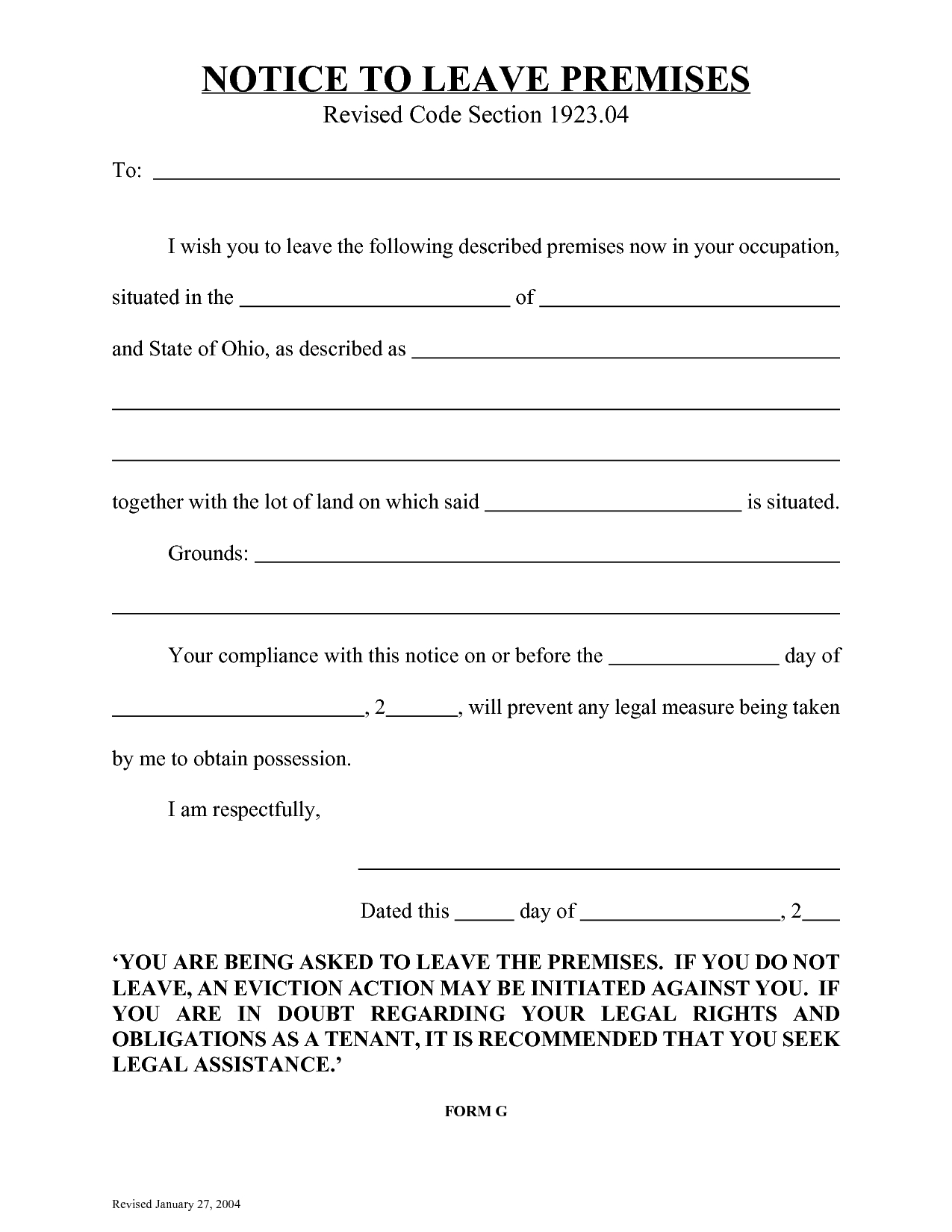 020 Template Ideas Free Eviction Notice Templates Day Florida 500904 - Free Printable Eviction Notice Ohio
