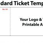 020 Template Ideas Free Printable Raffle Tickets Ticket For Word New   Free Printable Raffle Tickets With Stubs
