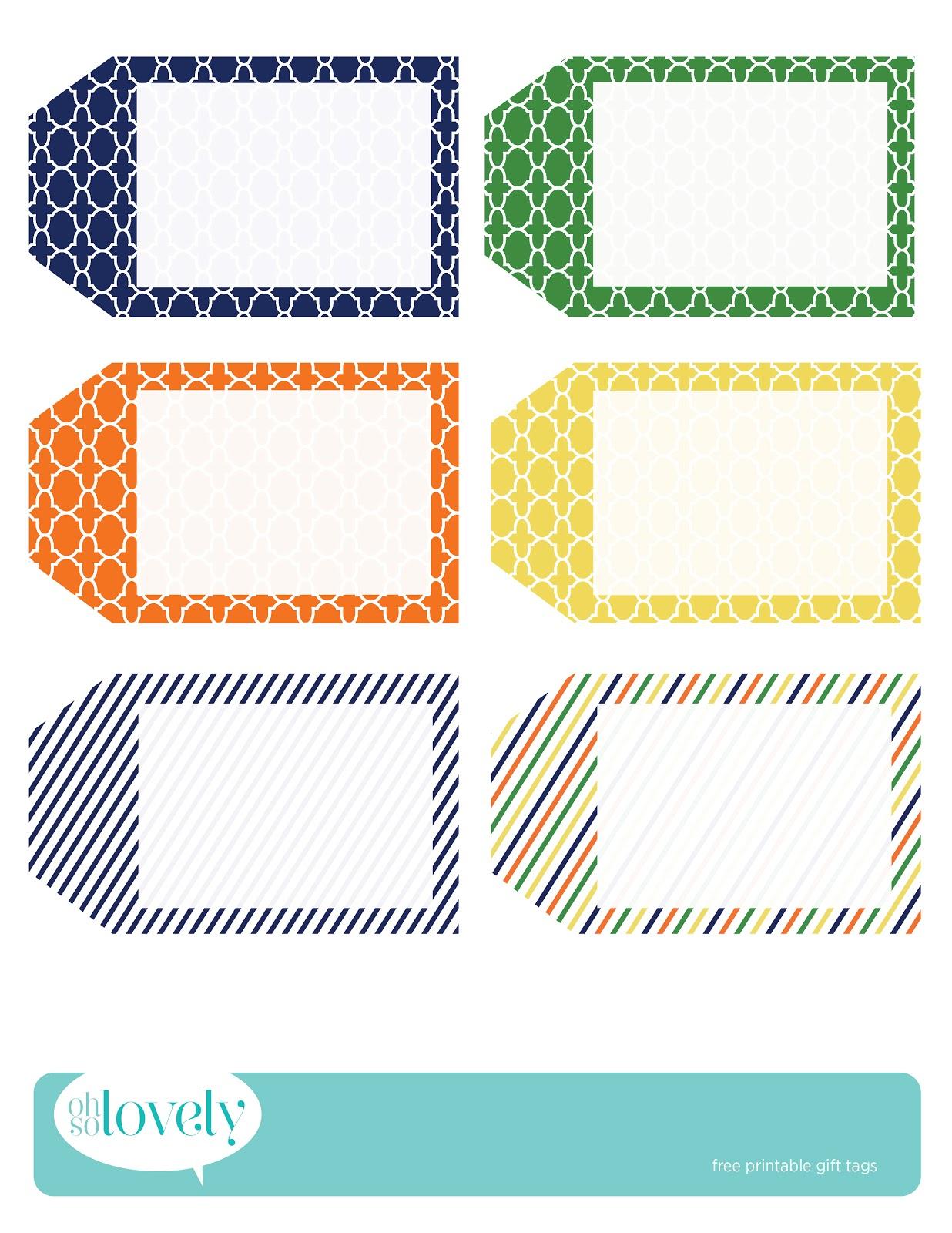 022 Printable Gift Tags Templates Birthday Tag Template ~ Ulyssesroom - Free Printable Thank You Tags Template