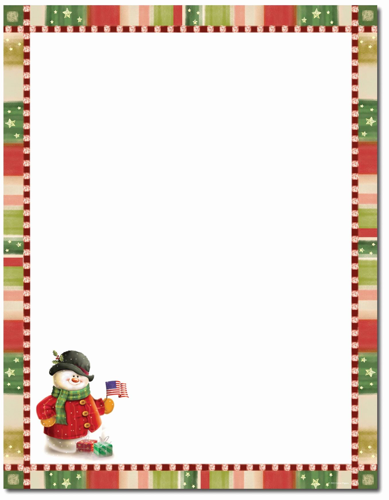 022 Stationary Templates For Word Christmas Stationery Template - Free Printable Christmas Stationary