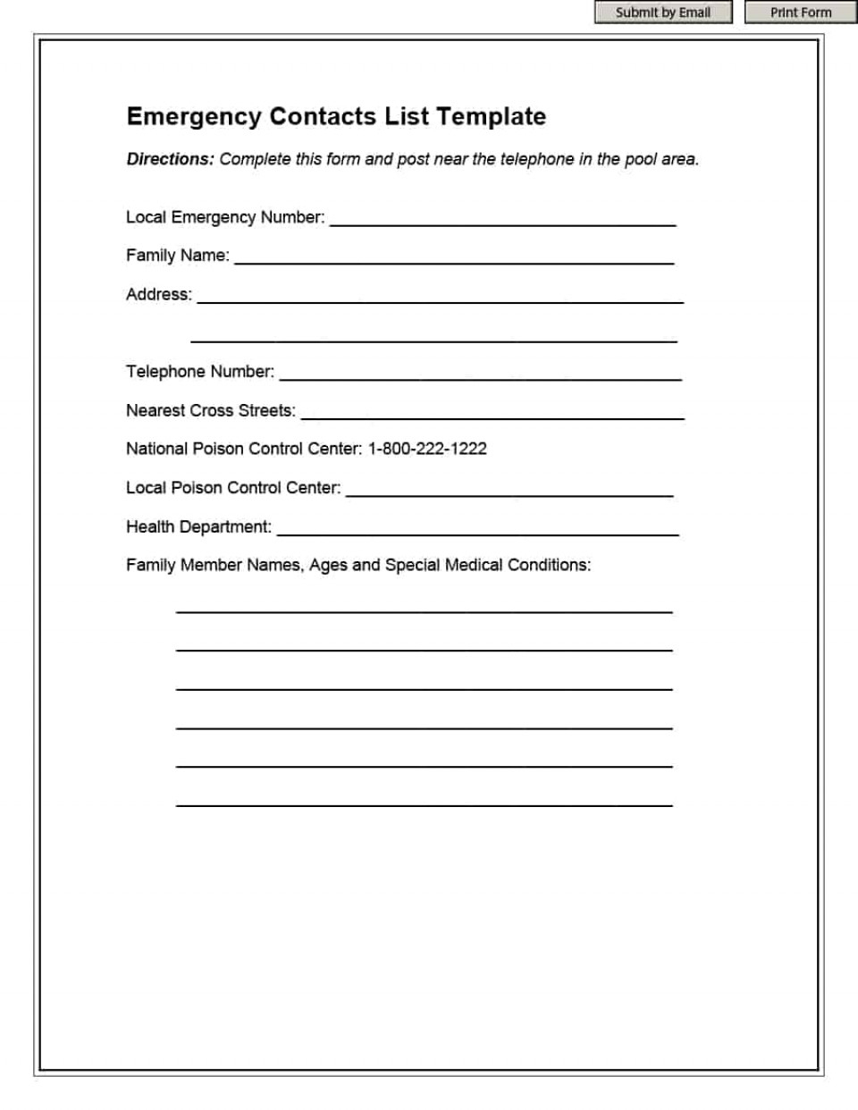 023 Weekly To Do List Template Ideas Emergency Phone ~ Ulyssesroom - Free Printable Emergency Phone List