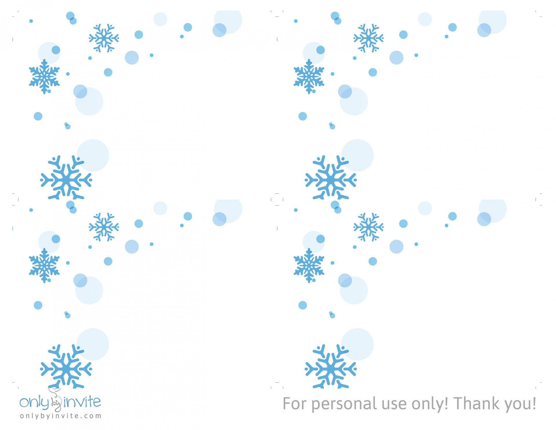 024 Free Printable Winter Snowflakes Wedding Rsvp Card Template - Free Printable Rsvp Cards