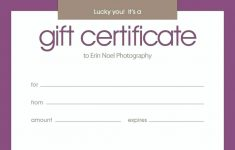 024 Printable Gift Certificates Template Ideas Birthday Certificate – Free Printable Gift Certificate Templates For Massage