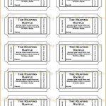 025 Free Printable Ticket Template Ideas Cinema Word Unique Make   Make Your Own Tickets Free Printable
