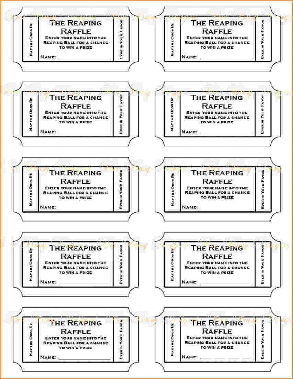 025 Free Printable Ticket Template Ideas Cinema Word Unique Make - Make Your Own Tickets Free Printable