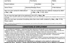 025 Job Application Form Template Word Free Printable Employment – Free Printable Job Applications Online