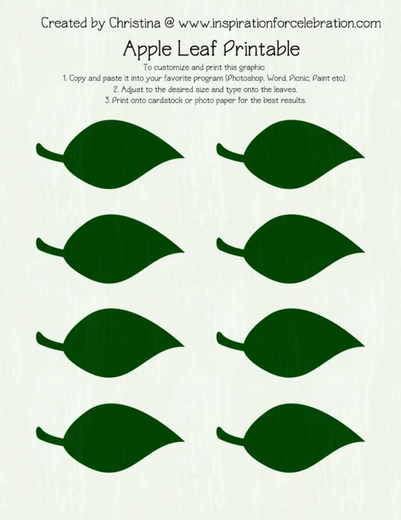 027 Free Printable Leaf Template Green Leaves ~ Ulyssesroom - Free Printable Leaf Template