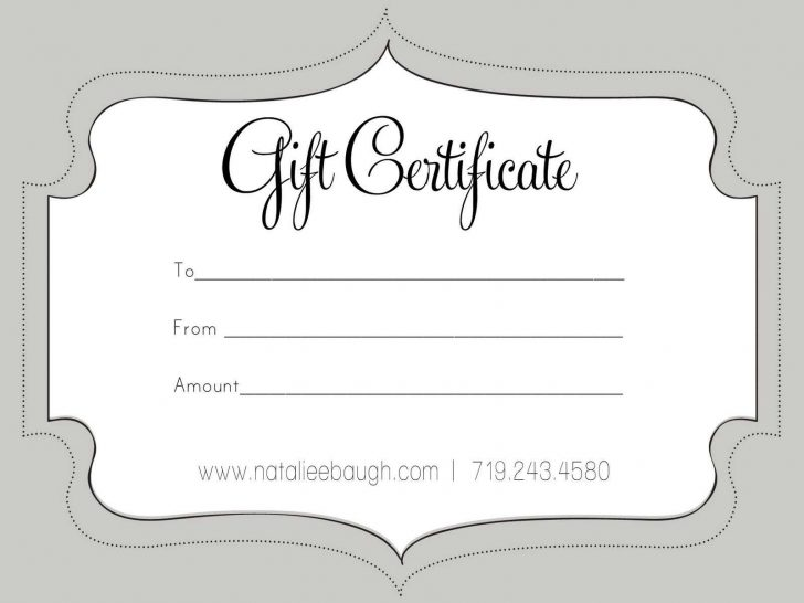 Free Printable Gift Vouchers Uk