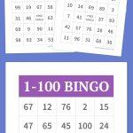 1 100 Bingo | Party Games | Pinterest | Bingo, Bingo Cards And Free   Free Printable Bingo Cards 1 100