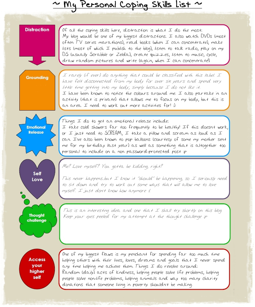 10+ Coping Skills Worksheets For Adults And Youth (+ Pdfs) - Free Printable Coping Skills Worksheets For Adults