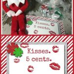 10 Easy Elf On The Shelf Ideas And A Daily Printable | Christmas   Elf On The Shelf Kissing Booth Free Printable