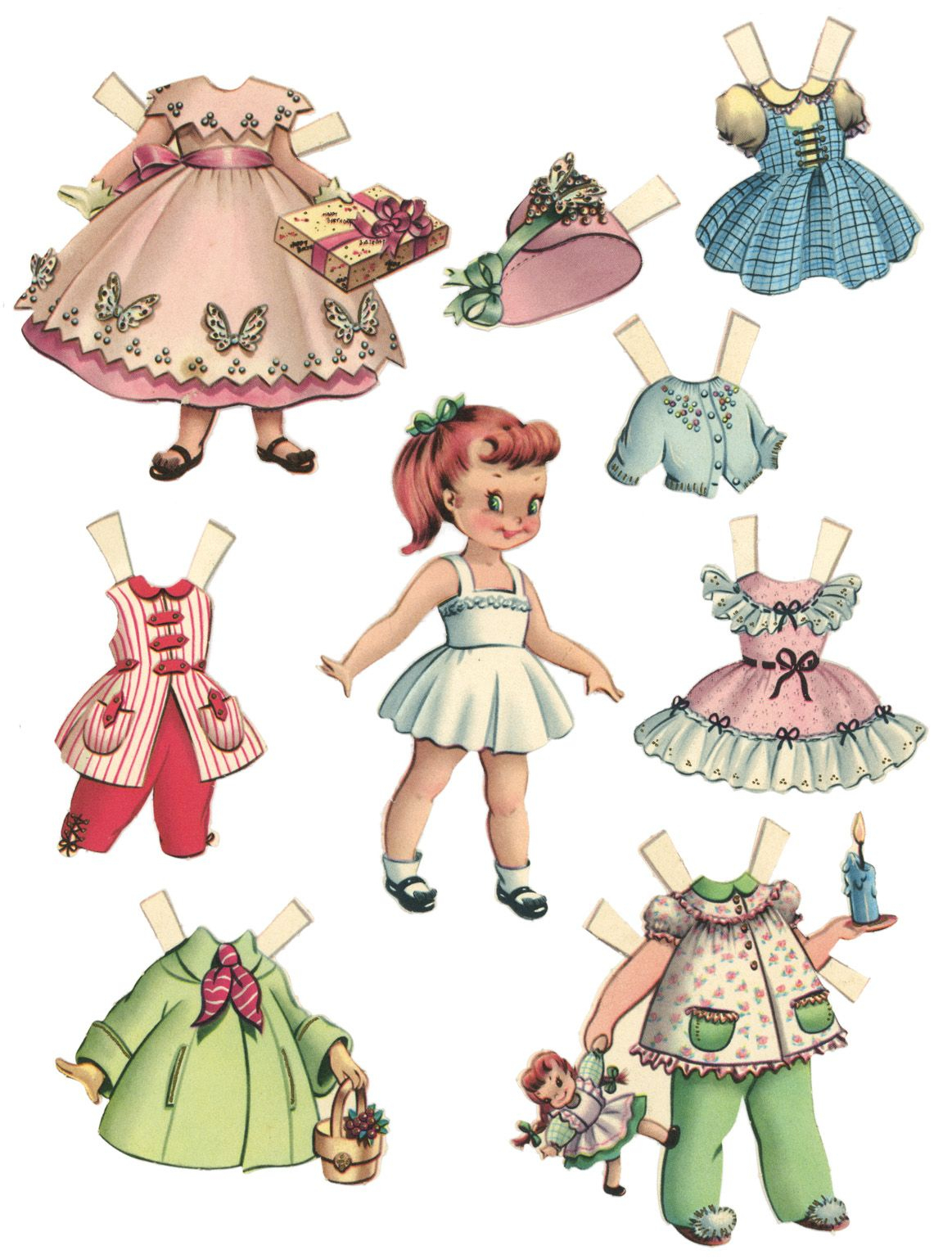 10 Free Printable Paper Dolls   Everyone Needs A Toy :)   Pinterest - Free Printable Paper Dolls