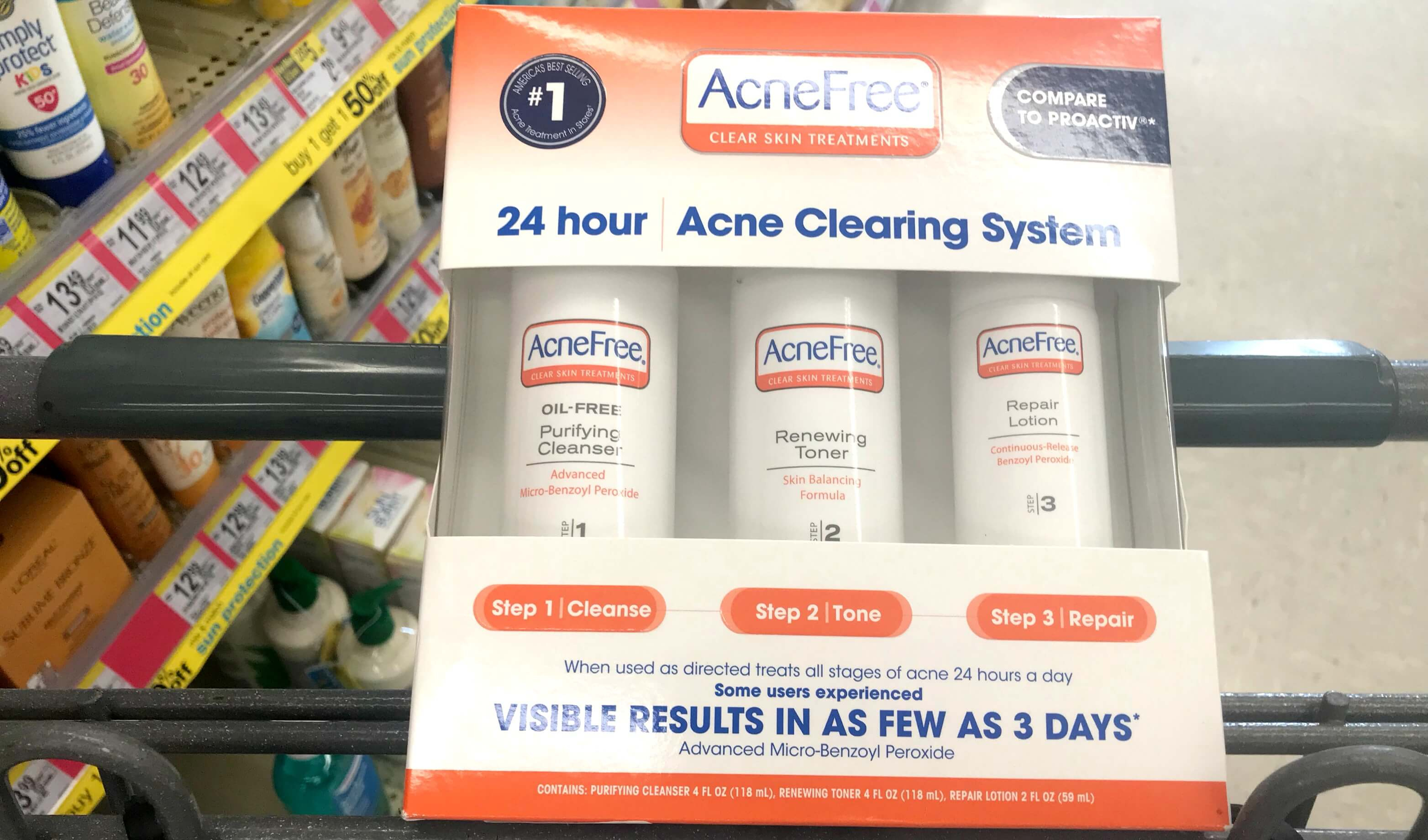 $10 In New Acnefree Skin Care Coupons + Great Deals At Target - Free Printable Food Coupons For Walmart