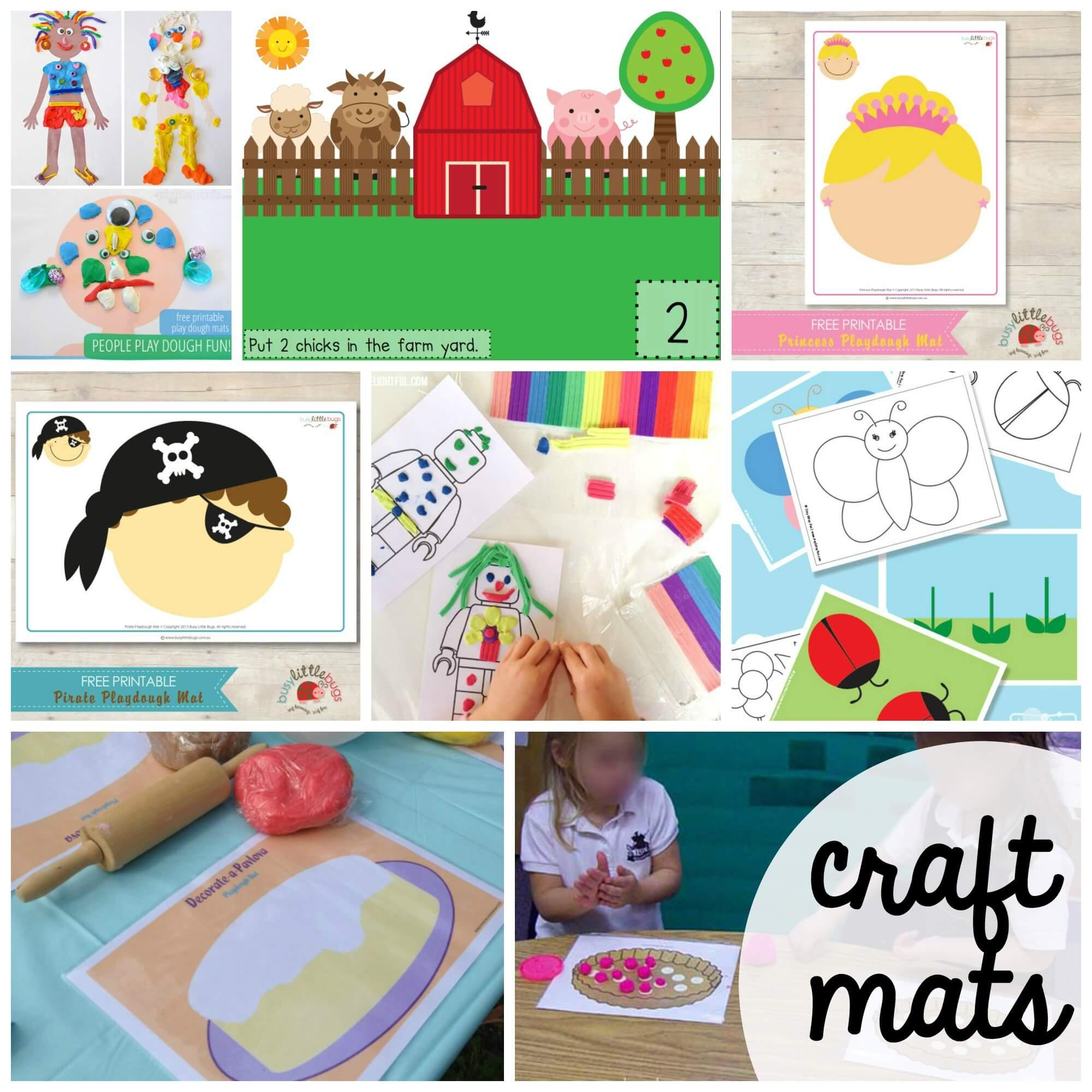 100 Free Playdough Mats - Playdough To Plato - Free Printable Playdough Mats