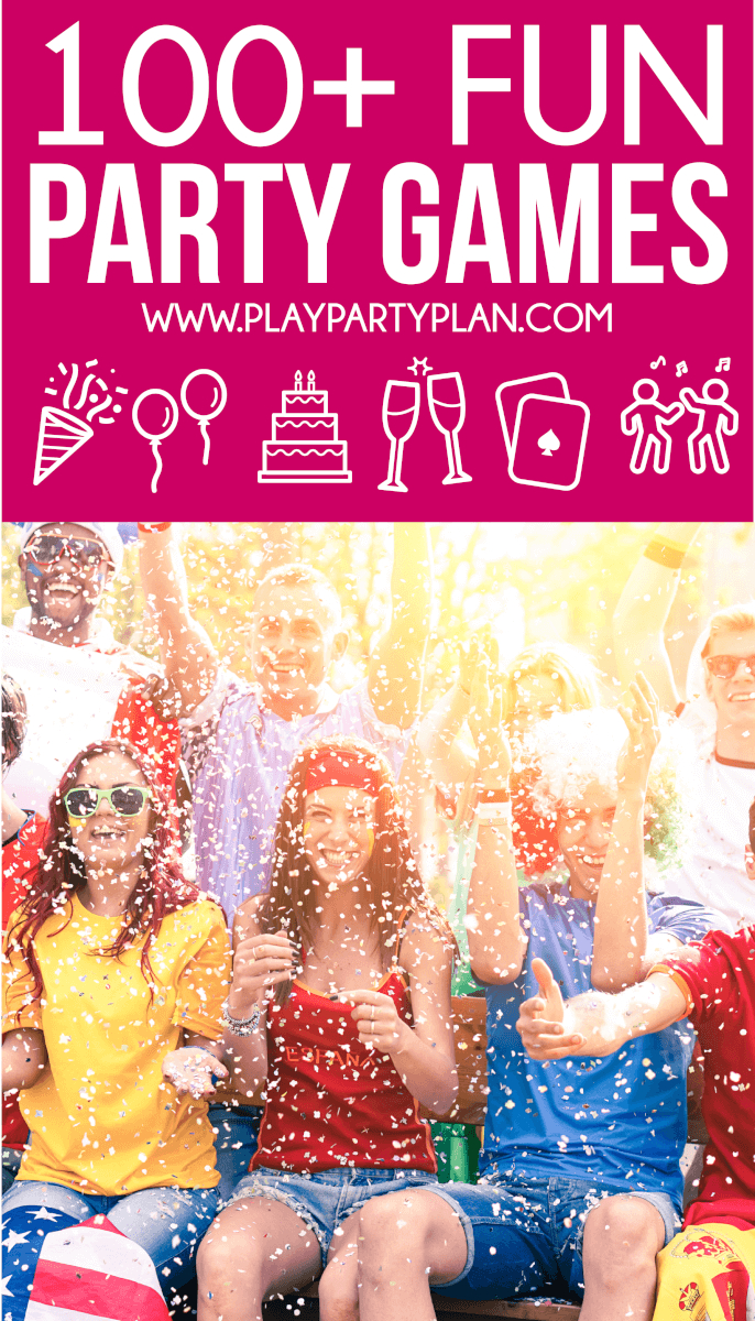 100+ Fun Party Games For Every Occasion You Could Ever Imagine - Free Printable Women's Party Games