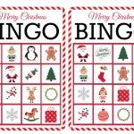 11 Free, Printable Christmas Bingo Games For The Family   Free Printable Christmas Board Games