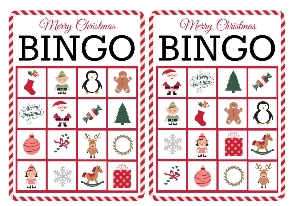 11 Free, Printable Christmas Bingo Games For The Family - Free Printable Christmas Board Games