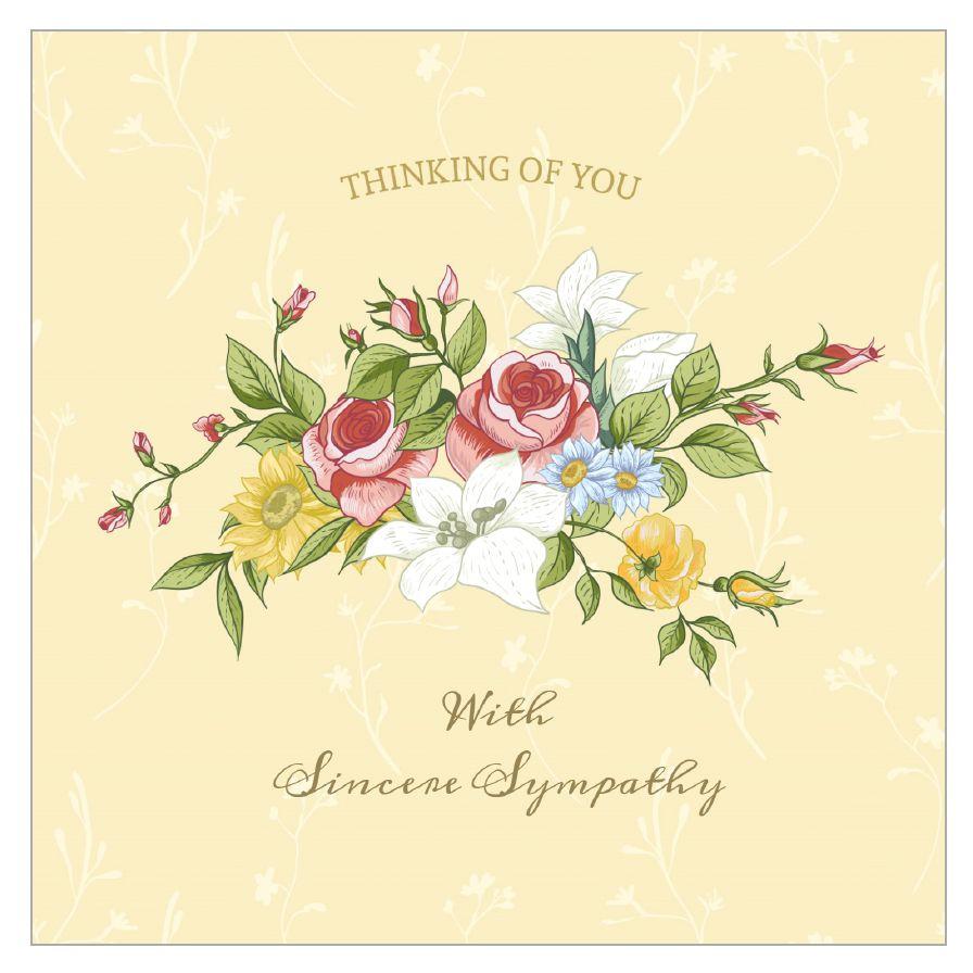11 Free, Printable Condolence And Sympathy Cards - Free Printable Sympathy Cards