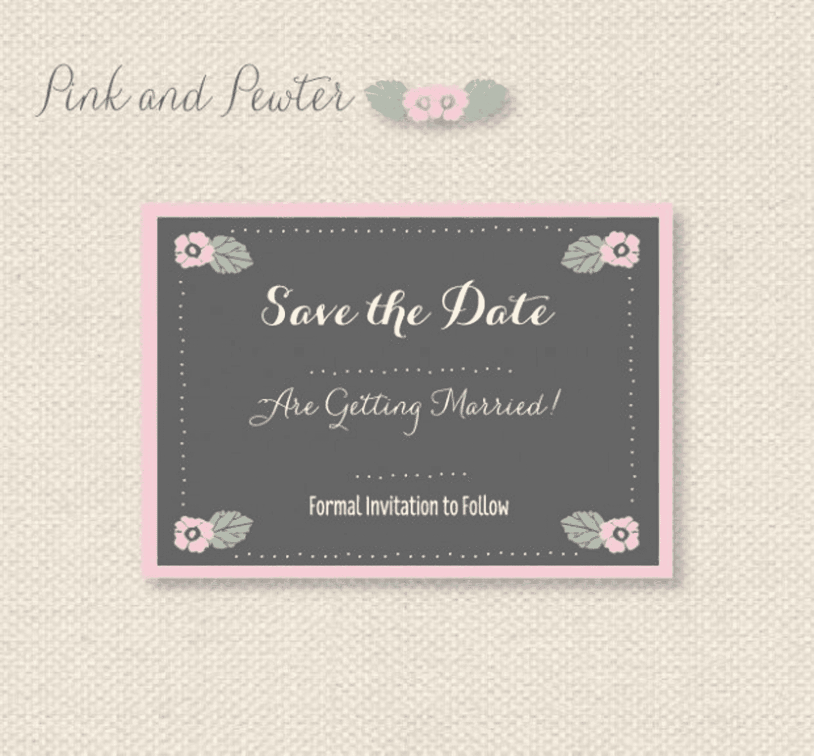 11 Free Save The Date Templates - Free Printable Save The Date Invitation Templates