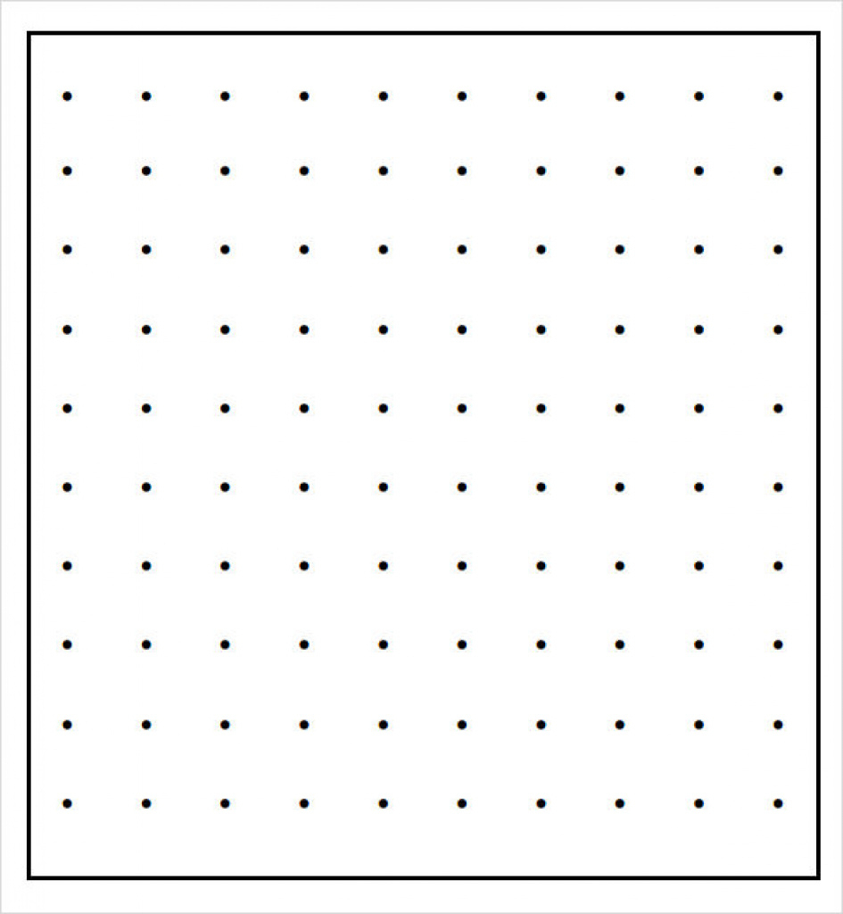 11+ Sample Dot Papers   Sample Templates Inside Free Printable - Free Printable Square Dot Paper