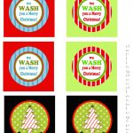 12 Days Of Gift Mas, Gift #1   Darling Doodles   We Wash You A Merry Christmas Free Printable