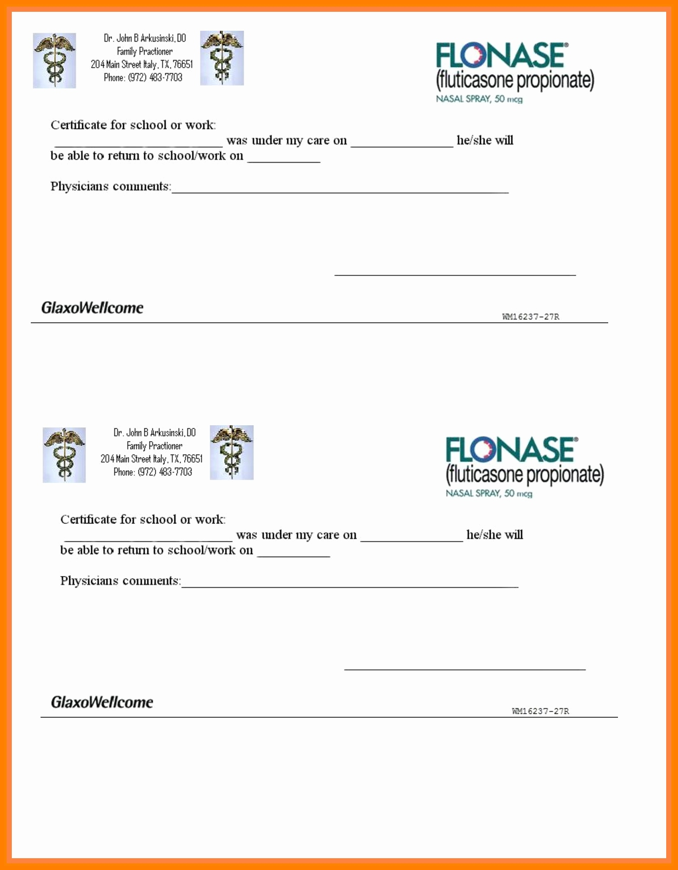 12+ Fake Hospital Notes | Lbl Home Defense Products - Doctor Notes For Free Printable